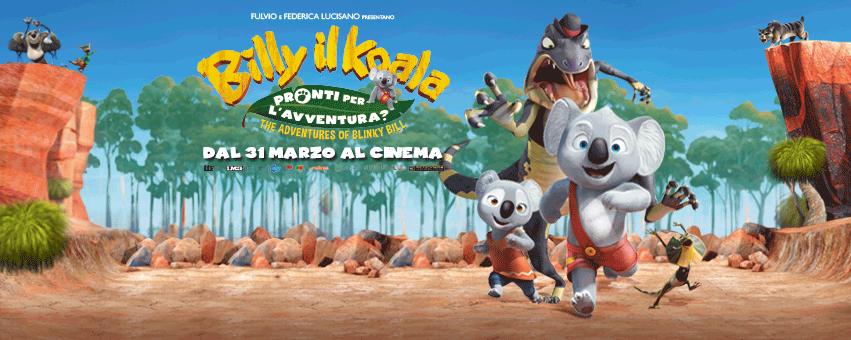 """Le avventure di """"billy il koala arrivano al cinema dal"""